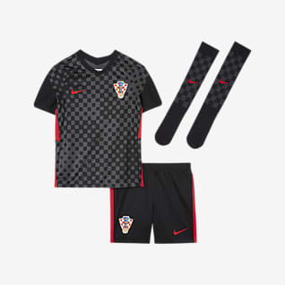 Kroatia 2020 (bortedrakt) Fotballdraktsett til små barn
