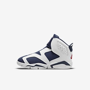 Jordan 6 Retro Little Flex รองเท้าเด็กเล็ก