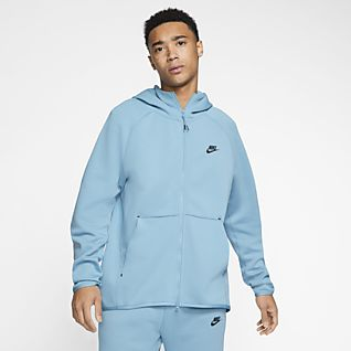 nike fleece blue