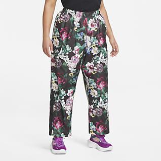Nike Sportswear Pantalones de tejido Woven para mujer talla grande