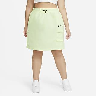 Nike Sportswear Swoosh Γυναικεία φούστα (μεγάλα μεγέθη)