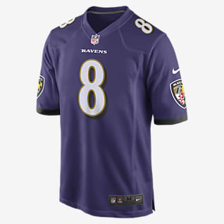 NFL Baltimore Ravens (Lamar Jackson) Men's Game American Football Jersey
