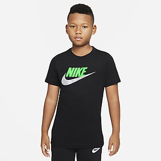 Nike Sportswear Bawełniany T-shirt dla dużych dzieci