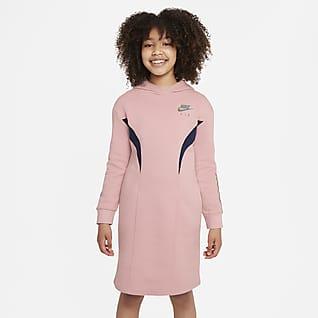Nike Air Флисовое платье для девочек школьного возраста