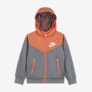 Nike Sportswear Windrunner Little Kids' Full-Zip Jacket