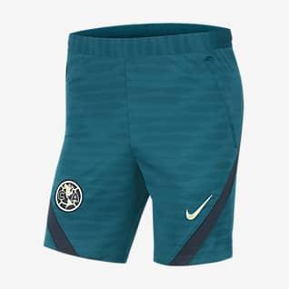 Club América Strike Shorts de fútbol tejidos para hombre Nike Dri-FIT