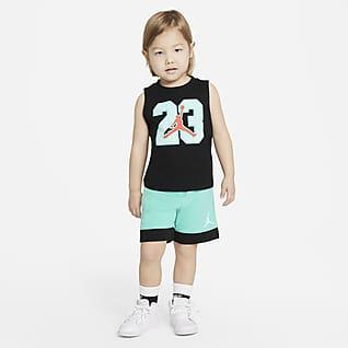 Jordan Conjunto de camiseta de tirantes y shorts para niños pequeños
