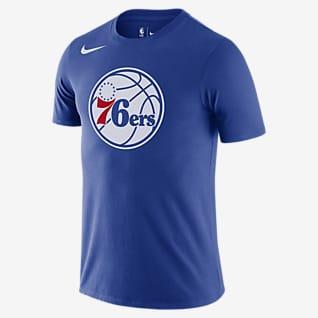 Philadelphia 76ers Nike Dri-FIT NBA Logolu Erkek Tişörtü