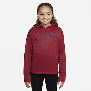 Nike Therma-FIT Big Kids' (Girls') Softball Hoodie