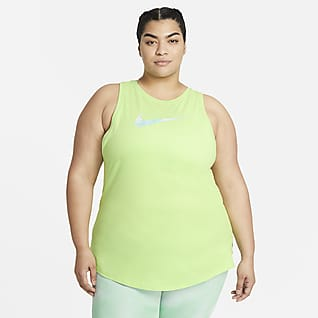 Nike Dri-FIT Icon Clash Camiseta de tirantes de entrenamiento (Talla grande) - Mujer