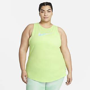 Nike Dri-FIT Icon Clash treningssinglet til dame (Plus Size)