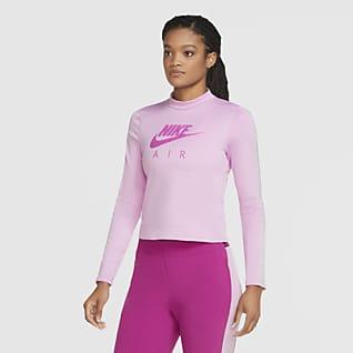 Nike Air Women's Long-Sleeve Mid-Layer Running Top