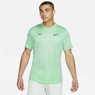 Rafa Challenger Męska koszulka z krótkim rękawem do tenisa