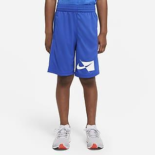 Nike Dri-FIT Shorts de entrenamiento para niño talla grande