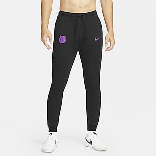 巴萨 Nike Dri-FIT 男子针织足球长裤