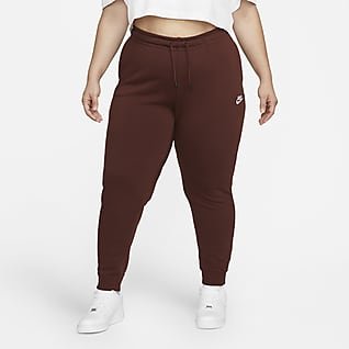 Nike Sportswear Essential Γυναικείο φλις παντελόνι (μεγάλα μεγέθη)