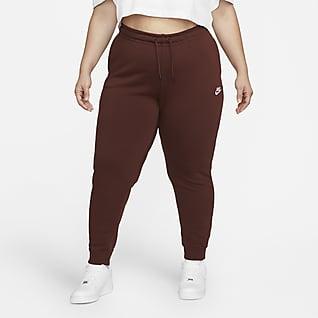 Nike Sportswear Essential Fleecebyxor för kvinnor (Plus Size)