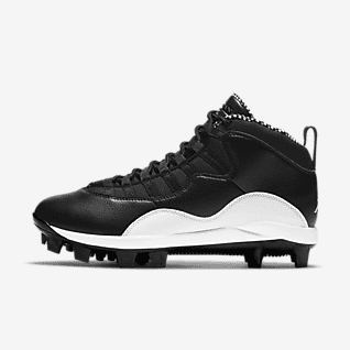 Jordan Retro 10 MCS Men's Baseball Cleat