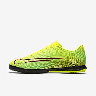 Nike Jr VaporX 12 Academy IndoorCourt Grade School Kids Soccer Shoe