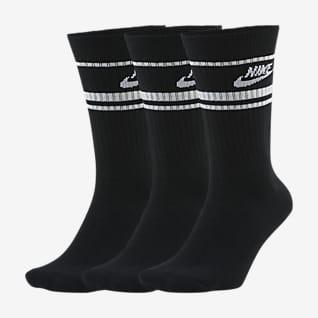 Nike Sportswear Essential ถุงเท้าข้อยาว (3 คู่)