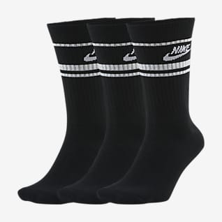 Nike Sportswear Essential 中筒襪 (3 雙)