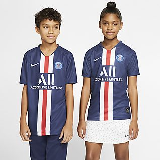 Paris Saint-Germain 2019/20 Stadium Home Camisola de futebol Júnior