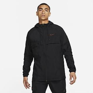 Nike เสื้อแจ็คเก็ตเทรนนิ่งซิปยาวผู้ชาย