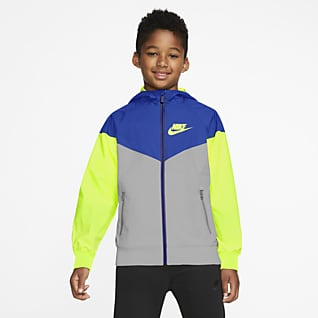 Nike Sportswear Windrunner Kurtka dla dużych dzieci (chłopców)