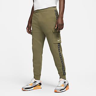 Nike Sportswear Cargobukse i fleece til herre