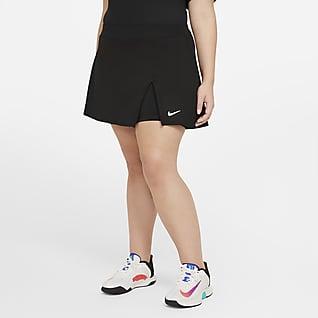 NikeCourt Victory Női teniszszoknya (plus size méret)