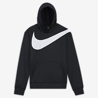 Nike Therma HBR Sudadera con capucha sin cierre de básquetbol para hombre