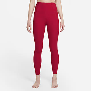 Nike Yoga Luxe Dri-FIT Dámské7/8 žebrované legíny zInfinalonu svysokým pasem