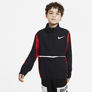 Nike Crossover เสื้อแจ็คเก็ตบาสเก็ตบอลเด็กโต (ชาย)