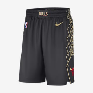 Chicago Bulls City Edition 2020 Мужские шорты Nike НБА Swingman