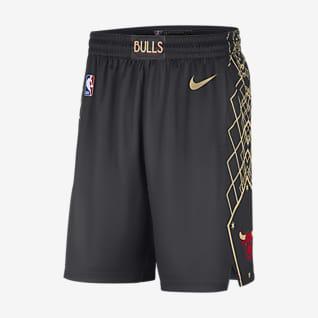 Chicago Bulls City Edition 2020 Shorts Swingman Nike NBA - Uomo
