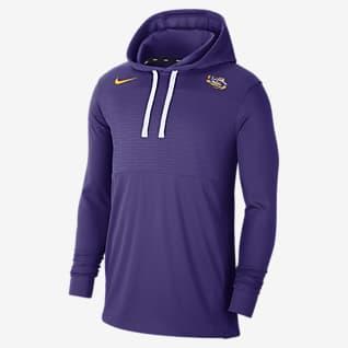 Nike College (LSU) Men's Lightweight Pullover Hoodie
