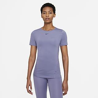 Nike Pro Women's Short-Sleeve Mesh Training Top