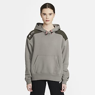 Nike Sportswear Belebújós polár kapucnis női pulóver