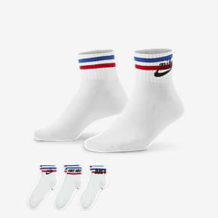 Nike Essential Ankle Socks (3 Pairs)