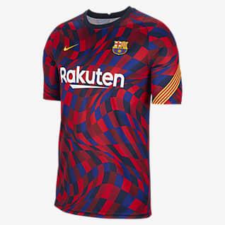 FC Barcelona Haut de football à manches courtes pour Homme