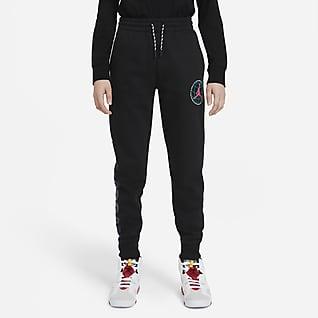 Jordan Pantalón de tejido Fleece - Niño