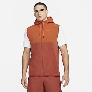 Nike Therma-FIT Ανδρικό χειμερινό αμάνικο τζάκετ προπόνησης