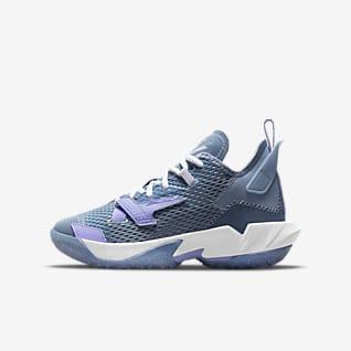 """Jordan """"Why Not?"""" Zer0.4 Basketbalová bota pro větší děti"""