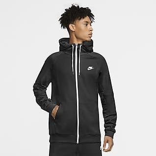 Nike Sportswear Sudadera con capucha de tejido Fleece y cierre completo para hombre