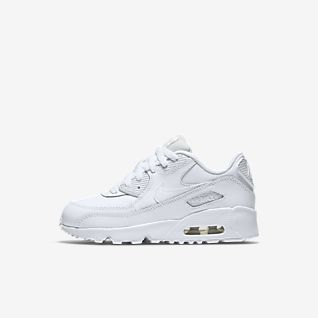 Nike Air Max 90 Leather Younger Kids' Shoe