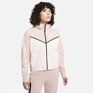 Nike Sportswear Tech Fleece Windrunner Sudadera con capucha de cierre completo para mujer