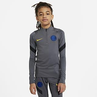 Inter Milan Strike Camiseta de entrenamiento de fútbol para niños talla grande
