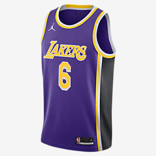 洛杉矶湖人队 Statement Edition Jordan NBA Swingman Jersey 男子球衣