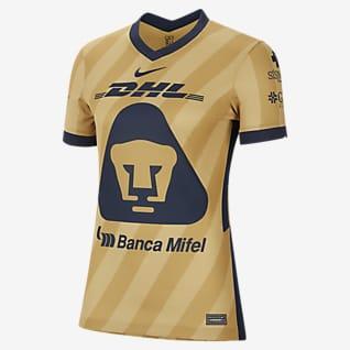 Camiseta alternativa Pumas UNAM 2020/21 Stadium Camiseta de fútbol para mujer