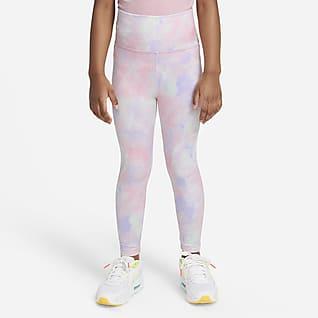 Nike Dri-FIT Little Kids' Tie-Dye Leggings